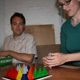Helle og Søren gør sig klar til Volcano